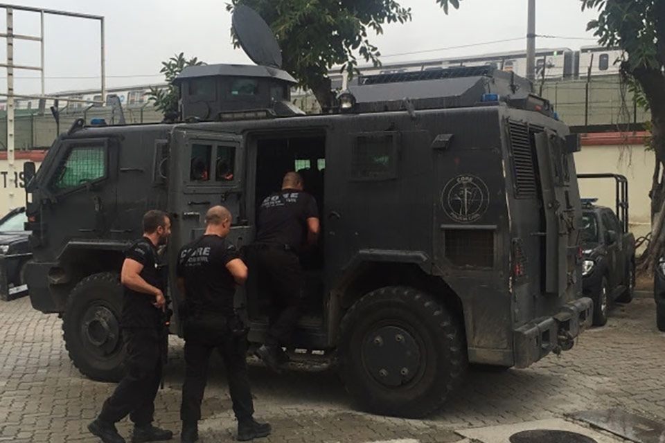 According to Amnesty International, over the last 10 years police were responsible for 16 per cent of killings in Rio, and almost eight out 10 victims were black. (Kim Brunhuber/CBC)